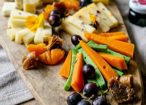 Plateau 5 fromages pâtes dures - 500g