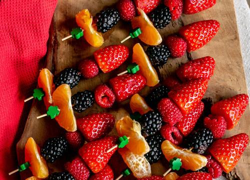 Brochettes de fruits frais x 20 pièces
