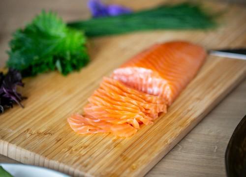 Coeur de saumon d'Écosse (200g) - 21,20€