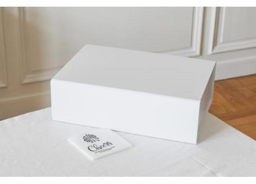 Coffret Cadeau Blanc ou gris aimanté