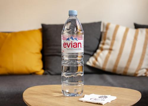 Eau minérale naturelle Evian 1,5L