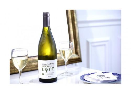 Côtes du Rhône Blanc Bio - Domaine de La Lyre 2017