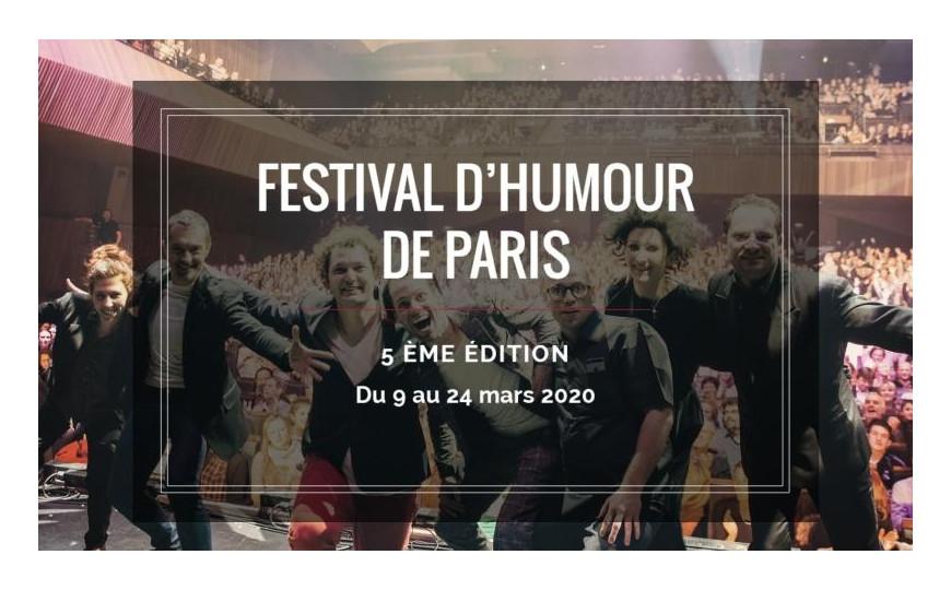 CHEERS AU FESTIVAL DE L'HUMOUR DE PARIS